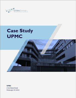 Cirius Group | UPMC case study