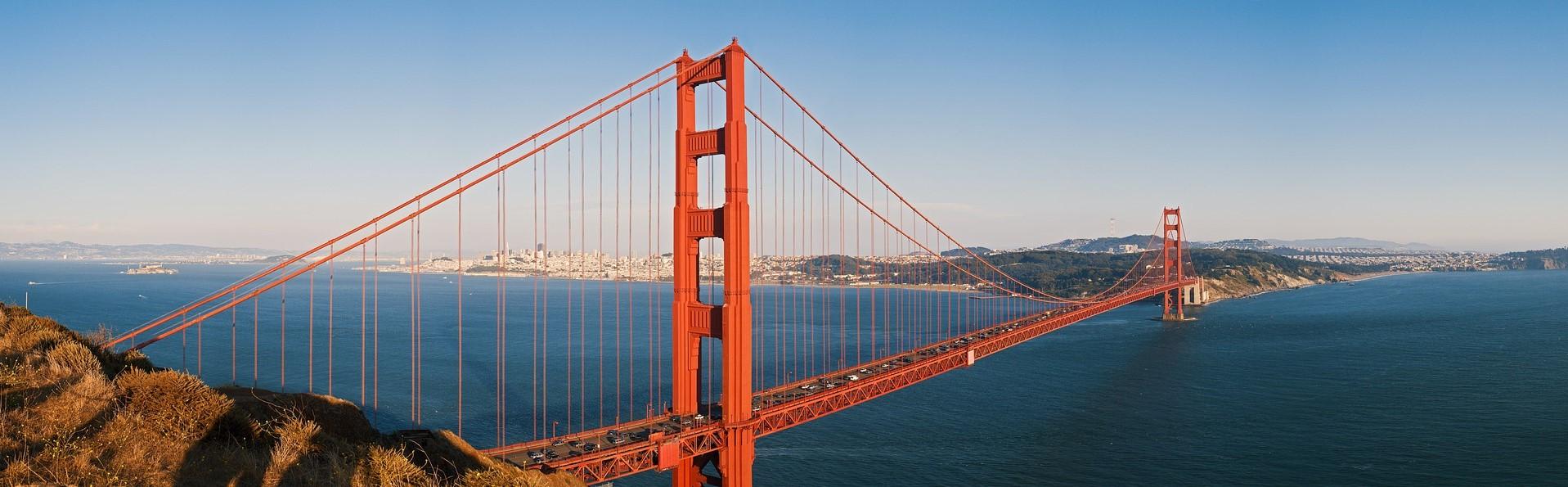 The beautiful Golden Gate bridge